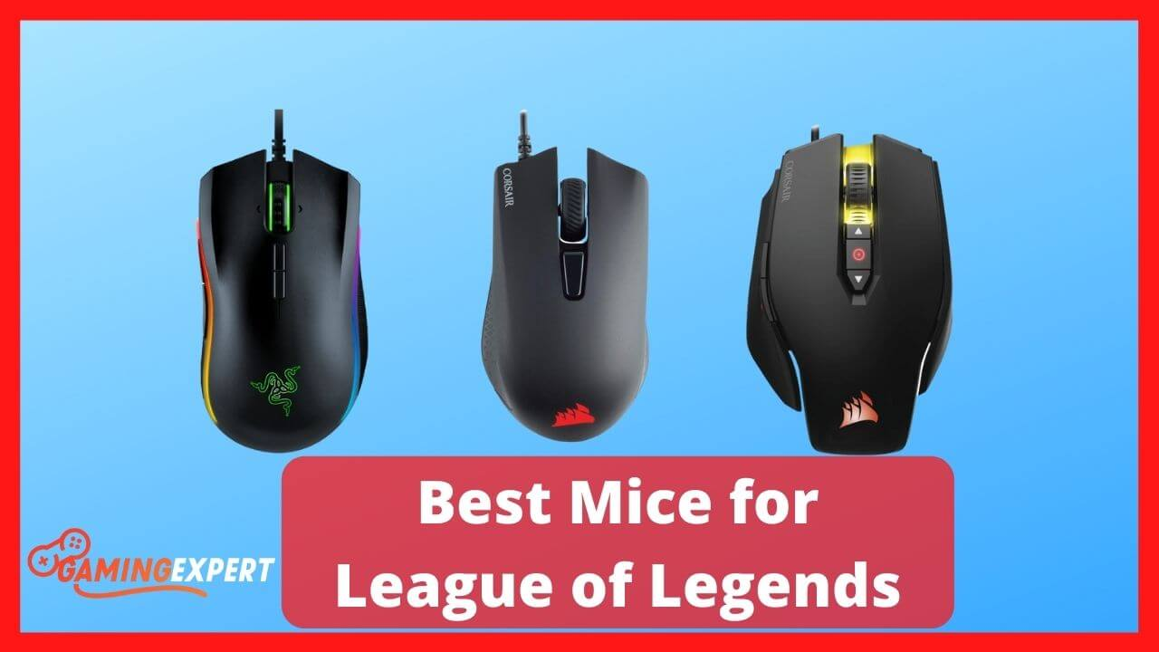 Best Mice for League of Legends
