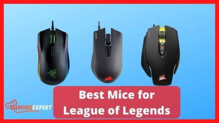 Best Mice for League of Legends (LOL) Used by Professional Gamers