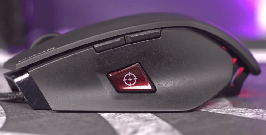 M65 Pro RGB Mouse - Sideview