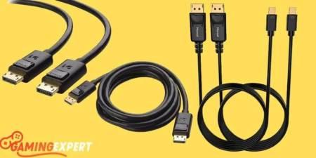 10 Best DisplayPort Cables For an Impressive 4K-8K Gaming