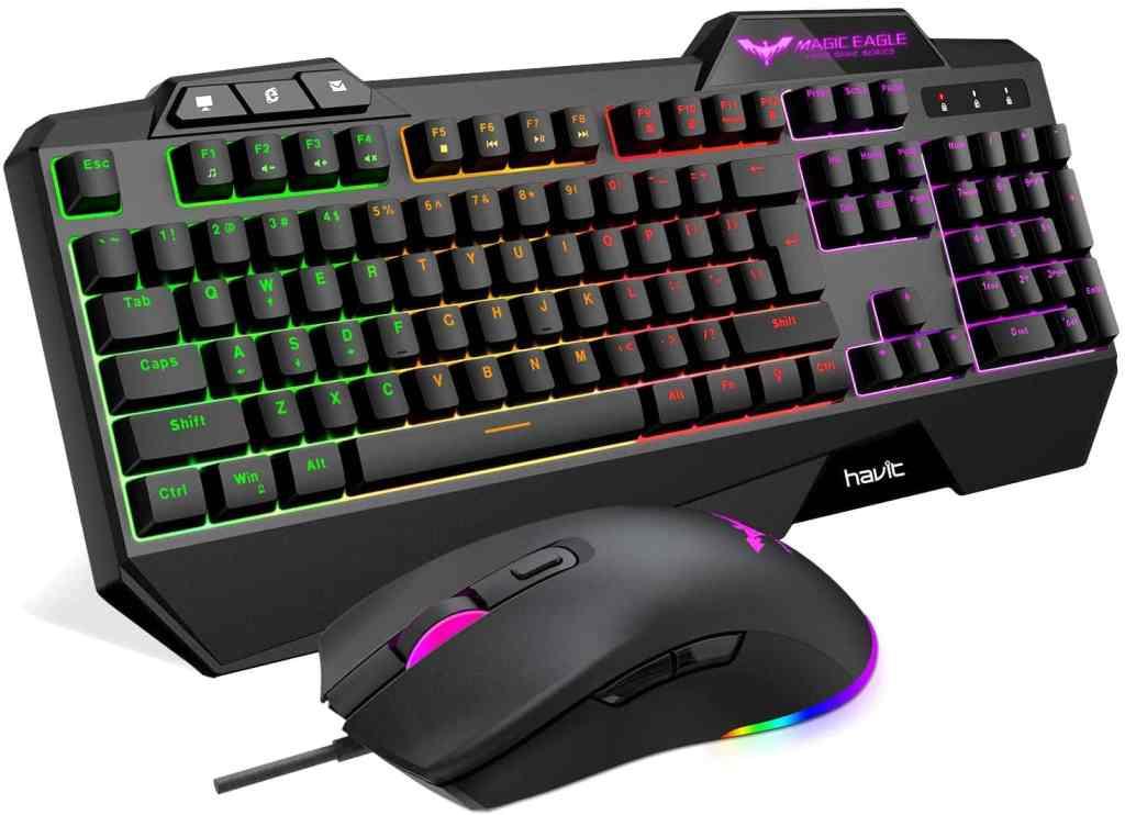 Havit Rainbow Gaming Keyboard & Mouse Combo