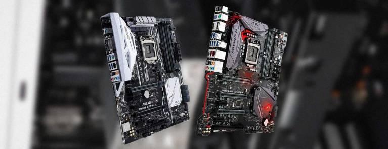 Motherboards i7 7700k CPU