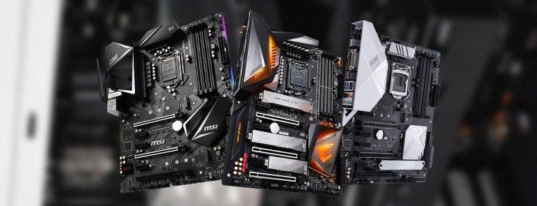 Motherboards for i7 9700K