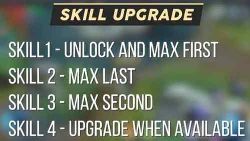 SKILL UPGRADE PRIORITY