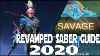 Mobile Legends Saber Revamp Guide & Best Build 2020