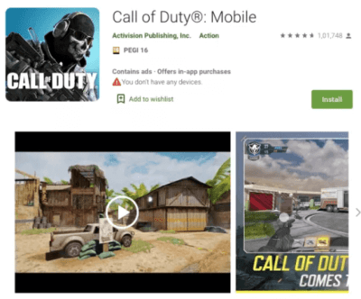 How to download call of duty mobile on android