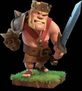 Clash of Clans th 9 king