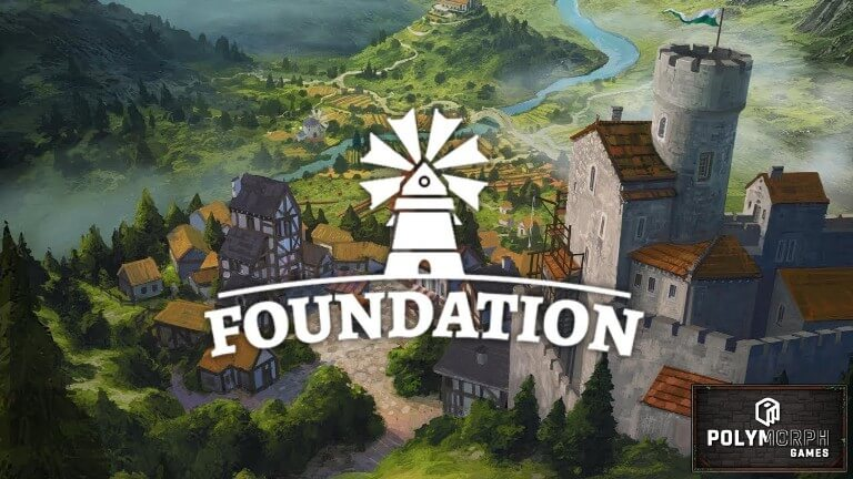 Foundation Freeform Medieval City Building Simulation In