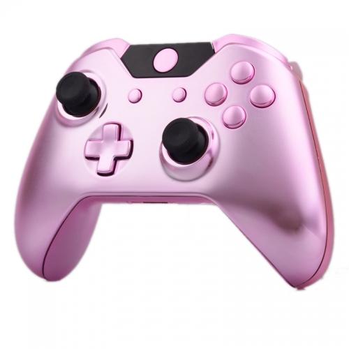 Xbox One Custom Controller Shell Chrome Pink Chrome