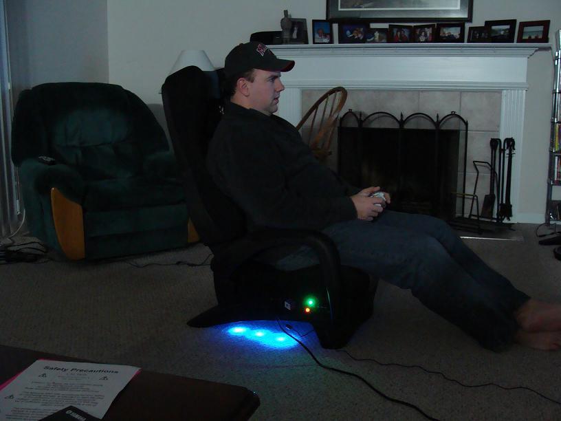 massage gaming chair black plastic adirondack chairs renegade review - nexus