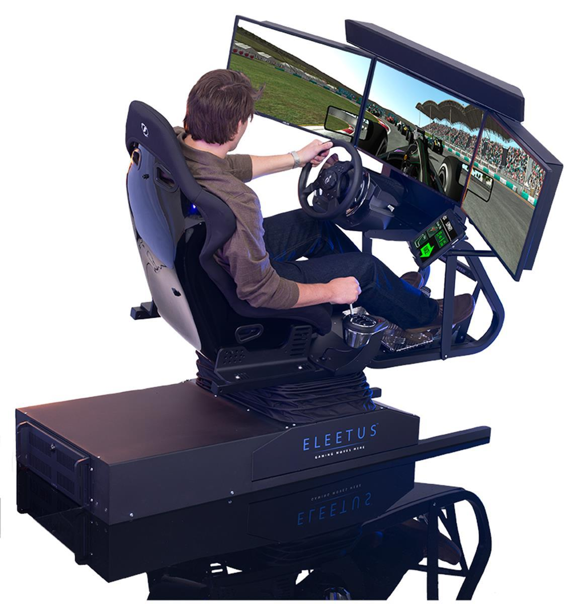 flight simulator chair motion antique wooden chairs pictures eleetus preview gaming nexus