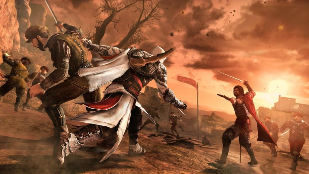 Wallpaper Falling Off Assassin S Creed Brotherhood Review Gaming Nexus