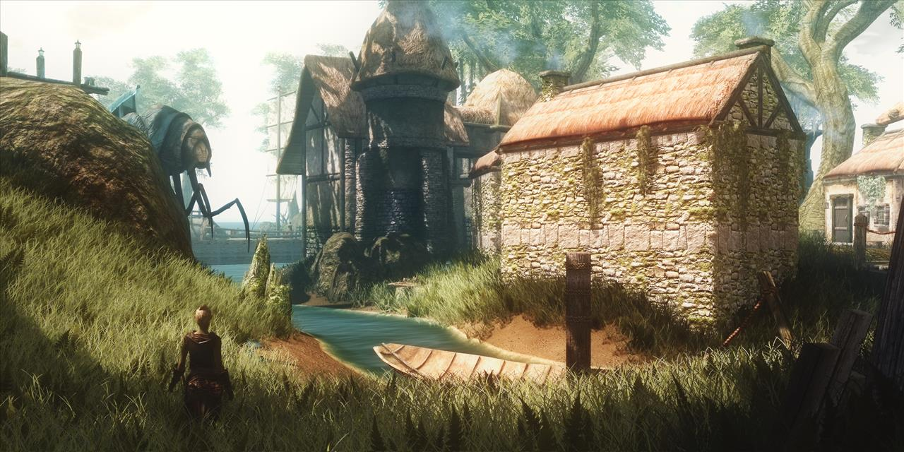 The Skywind Project as seen by the video game