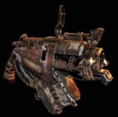 The Digger Launcher from gears of war
