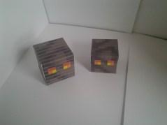 Magma cube papercraft