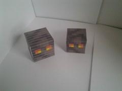 2 magma cube papercraft models