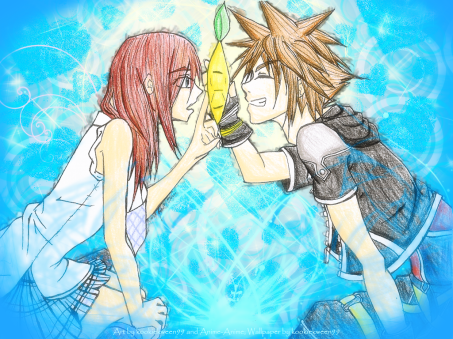 Kingdom Hearts Paopu Wallpaper