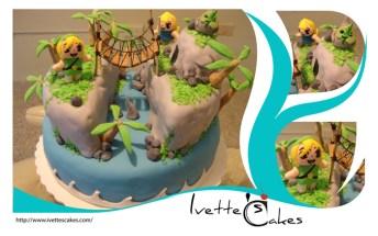 zelda wind waker cake