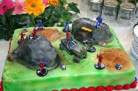 halo 3d cake multiplayer map game