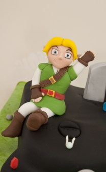 nintendo 64 zelda cake