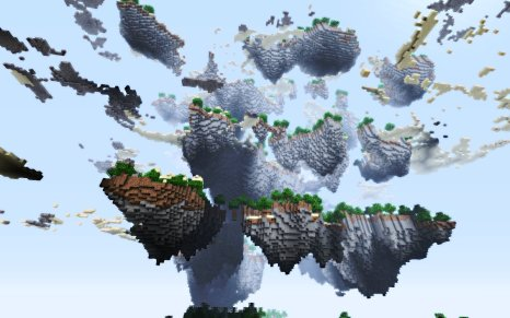 minecraft sky islands