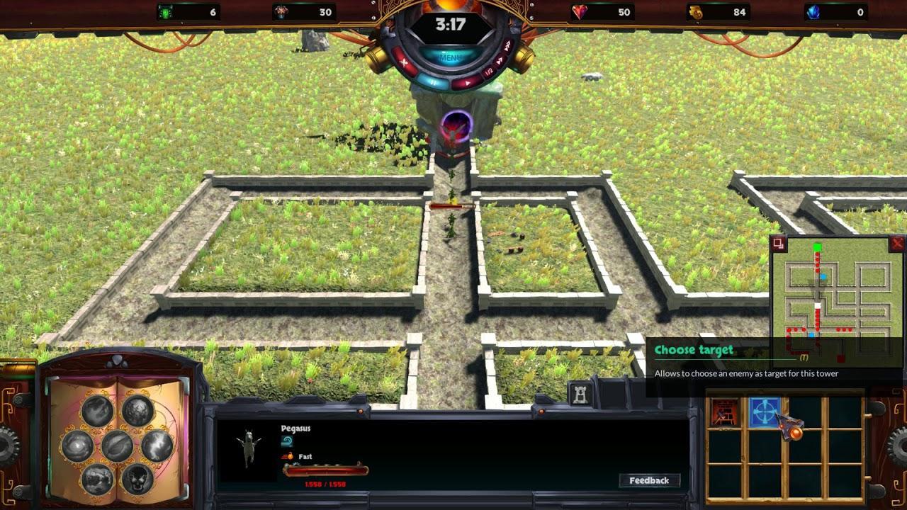 tower defense game elemental