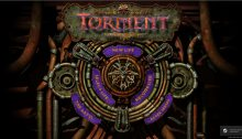 Planescape: Torment Enhanced Edition menu