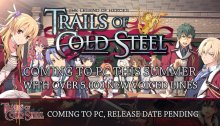 The Legend of Heroes: Trails of Cold Steel PC version