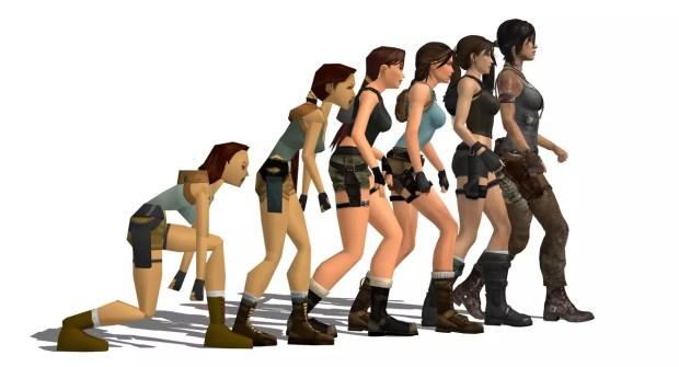 Tomb Raider evoluzione