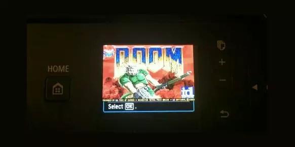 Doom Canon Pixma