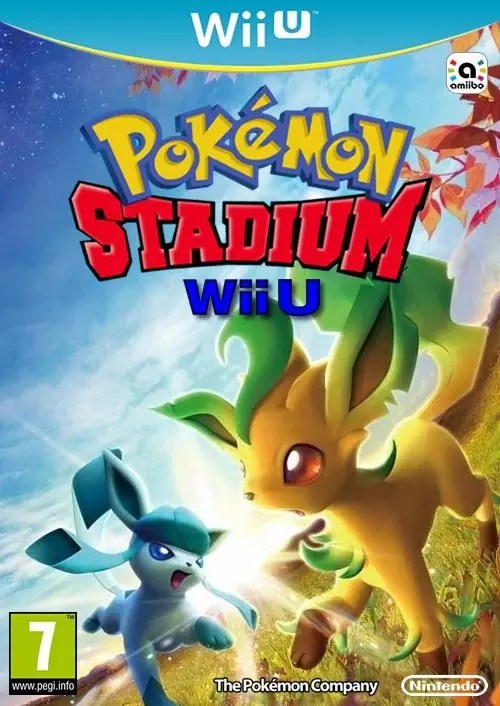 Pokémon Stadium Wii U Cover