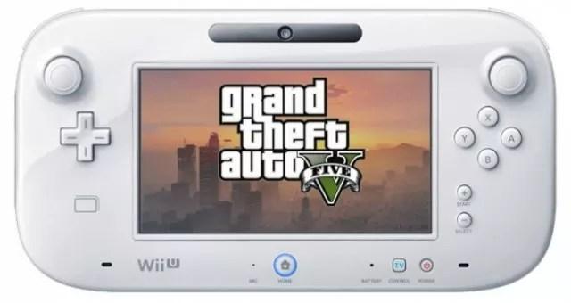 GTA V Wii U