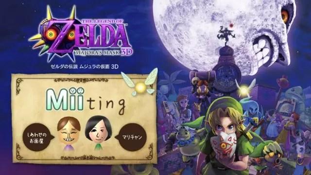 The Legend of Zelda Majora's Mask 3D Nintendo