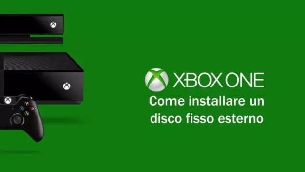 aumentare memoria Xbox One