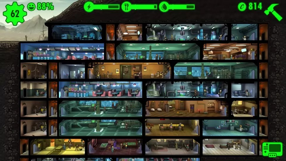 Fallout Shelter Theme Fast Food