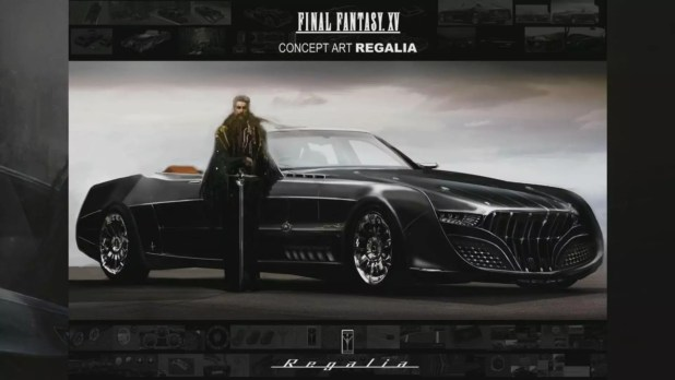 Final Fantasy XV Regalia
