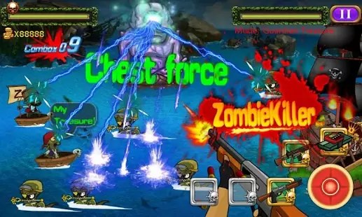 Pirate Zombie Wars Android
