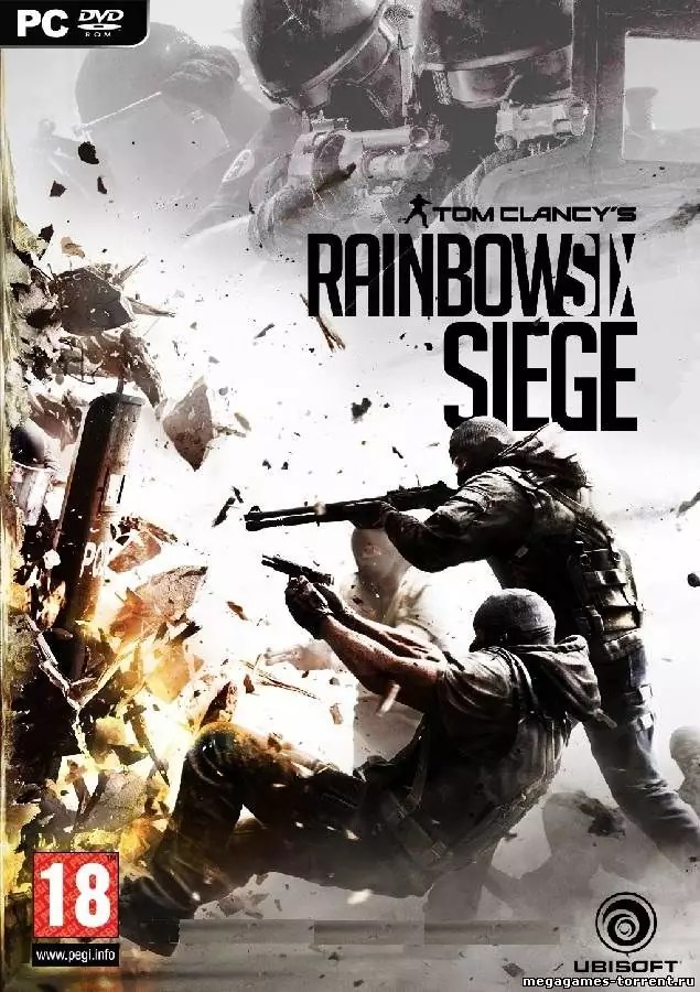 Rainbow Six Siege cover 1