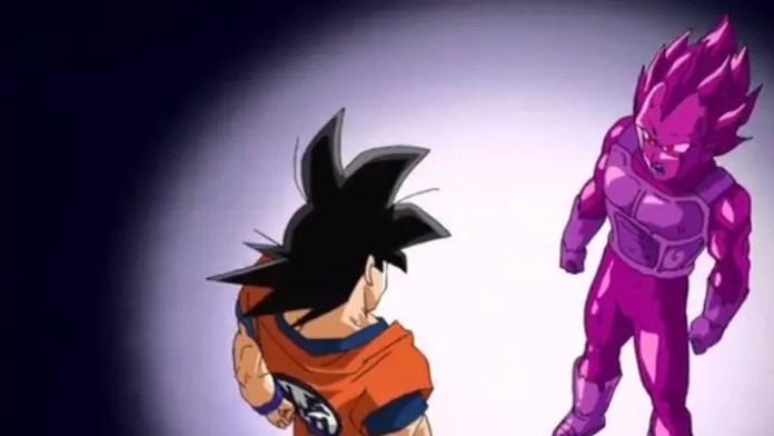 Dragon Ball Super Vegeta Copia vs Goku