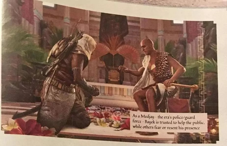 Assassin's Creed Origins sulla cover di Game Informer