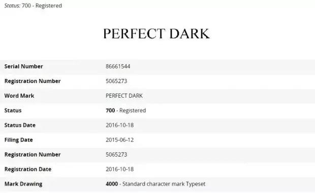 Microsoft PERFECT DARK