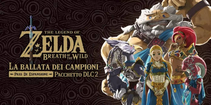 The Legend of Zelda: Breath of the Wild La Ballata dei Campioni