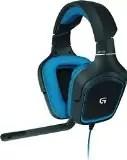 Logitech G430 Cuffia Gaming per PC, PS4, Xbox One, Switch, Dolby Surround 7.1