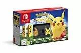 Nintendo Switch Pikachu & Eevee Edition + Pokémon: Let's Go, Pikachu! + Poké Ball Plus