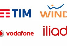 Tim Wind Vodafone Iliad