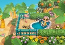 Un nuovo semplice glitch ci permette di sederci nelle piscine in Animal Crossing: New Horizons