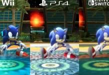Sonic Colors: Ultimate: Wii vs. PS4 vs. Switch video confronto di grafica e tempi di caricamento