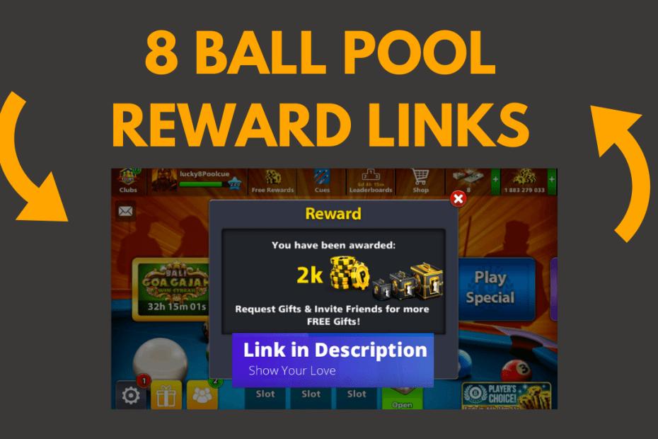 8 ball pool rewards