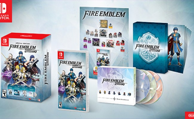 Fire Emblem Warriors Special Edition Revealed By Nintendo