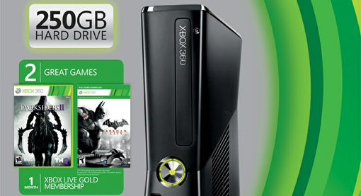 New Xbox 360 250GB Bundle Has Batman Arkham City